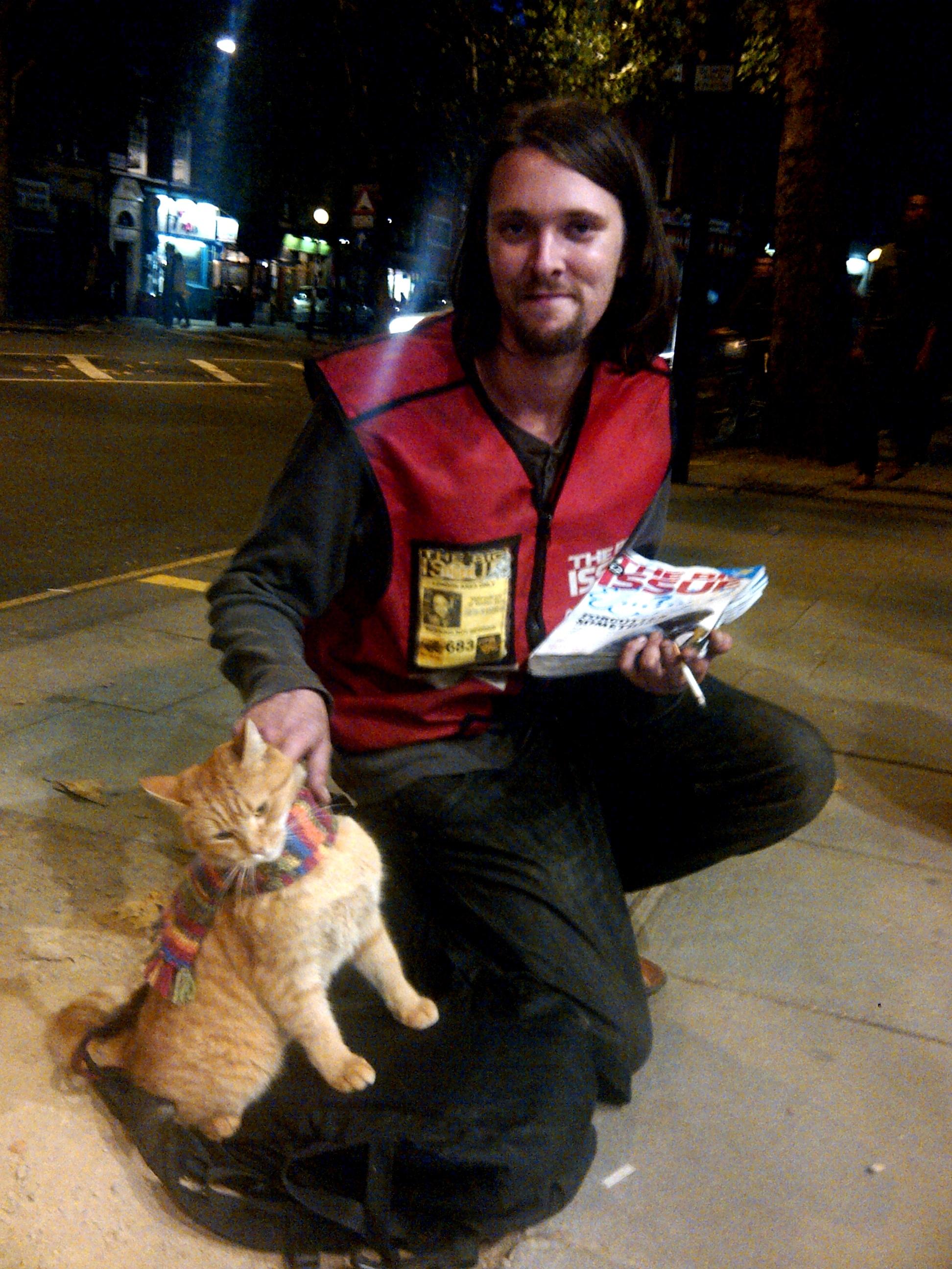Street Cat Bob Big Issues
